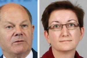 Parteien: SPD-Vorsitz: Scholz will Doppelspitze mit Klara Geywitz