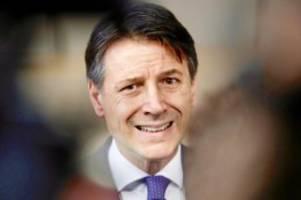 Regierungskrise: Krise in Italien: Regierungschef Conte kündigt Rücktritt an