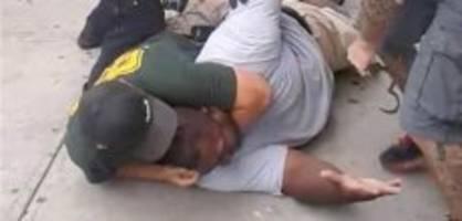 Fall Eric Garner: Polizei feuert Beamten 5 Jahre nach Würgegriff