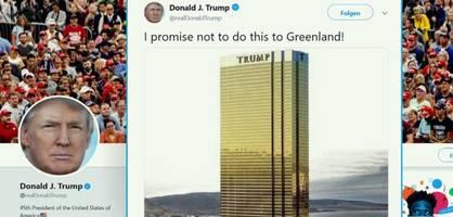 Donald Trump gibt Grönland ein Versprechen