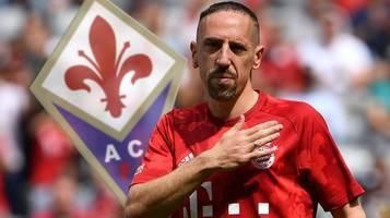 Ex-Bayern-Star: Frank Ribery vor Wechsel zum AC Florenz nach Italien