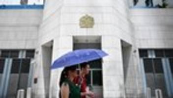 Simon Cheng Man-Kit: China nimmt Mitarbeiter des britischen Konsulats in Hongkong fest
