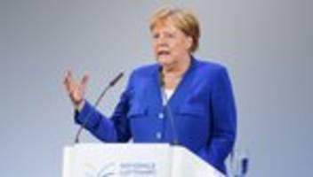 Wasserstoff: Merkel kündigt Wasserstoffstrategie für Luftfahrt an