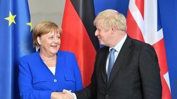 Besuch bei Merkel: Wir schaffen das - Boris Johnson glaubt an Brexit-Kompromiss