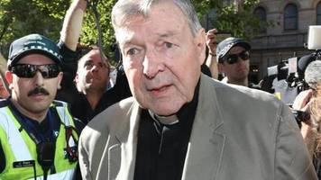 Freilassung frühestens 2022: Zurück in Einzelzelle: Kardinal Pell scheitert mit Einspruch