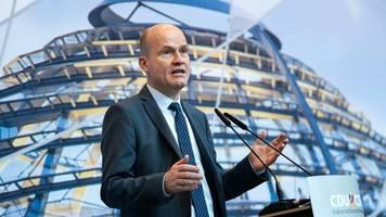 kompletter soli-abbau: brinkhaus will politische lösung statt verfassungsgerichtsurteil