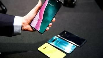 technologiekonzern: samsungs galaxy s10 wird per software-update 5g-fähig