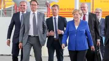 luftfahrtkonferenz in leipzig: merkel kündigt nationale wasserstoffstrategie an