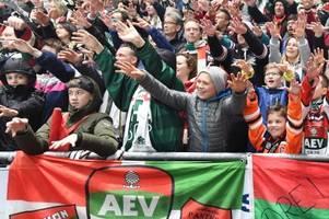Das müssen AEV-Fans zum Heimspiel-Test gegen die Black Wings Linz wissen