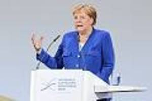 """Erste nationale Luftfahrtkonferenz - """"Keine erzwungenen Einschränkungen unserer Mobilität"""": Merkel stützt Luftverkehr"""