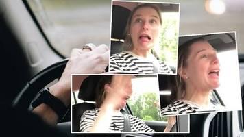 Trauma im Auto: Nach 14 Jahren: Julia setzt sich zum ersten Mal wieder ans Steuer