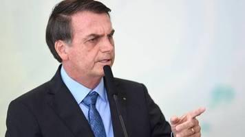 Waldbrände im Amazonas-Regenwald: Brasiliens Präsident Bolsonaro bezichtigt Umweltschützer der Brandstiftung
