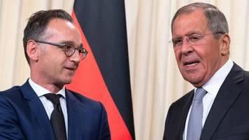 russland-besuch: maas und lawrow liefern sich heftigen schlagabtausch auf pressekonferenz