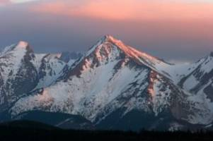 gewitter: tatra-gebirge in polen: blitze treffen mehr als zehn wanderer