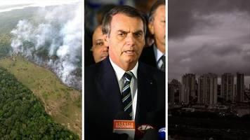 Naturzerstörung in Brasilien: Wie Jair Bolsonaro mit seinem Hass dazu beiträgt, dass der Regenwald abbrennt