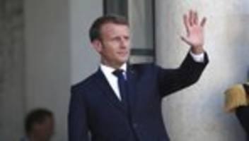 G7-Gipfel: Macron will brennenden Regenwald auf Agenda setzen