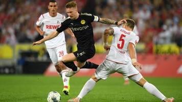 Fußball-Bundesliga: Trotz Rückstand: BVB besiegt Köln klar