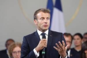 Übervolle Agenda: Macron will Trump beim G7-Gipfel in Biarritz ausbremsen