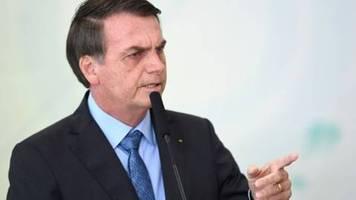 Bolsonaro wirft Macron bei Amazonas-Waldbränden kolonialistische Mentalität vor
