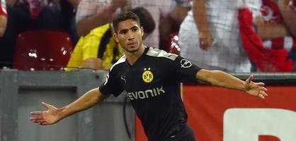 Nach einer Stunde wechselt Lucien Favre den BVB-Sieg ein