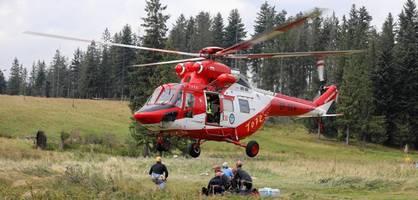 Mindestens fünf Tote nach Gewitter im Tatra-Gebirge