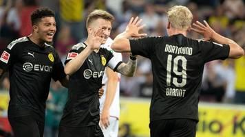 Späte Tore retten Dortmund-Sieg in Köln