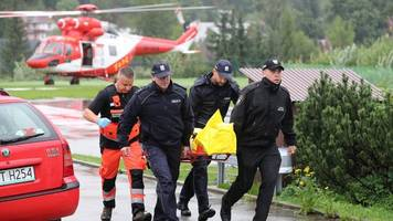 Tragödie durch Blitzeinschlag: Tote und viele Verletzte in der polnischen Tatra
