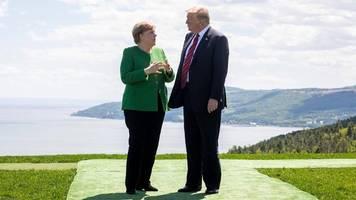 Newsblog zum G7-Gipfel in Frankreich: Trump will mit fast allen einzeln sprechen – auch mit Merkel