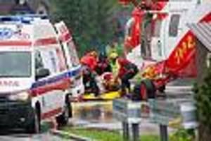 tatra-gebirge - mindestens fünf tote und mehr als 20 verletzte bei gewitter