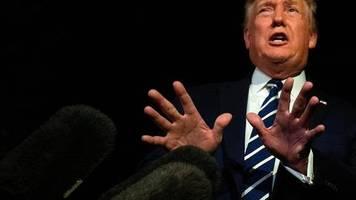 Handelskrieg-Bemerkung: Es war nur Sarkasmus: Donald Trump ist nicht der Auserwählte