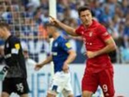 FC Bayern gewinnt 3:0 bei Schalke 04
