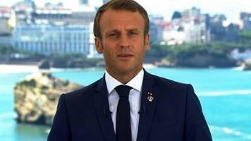 Macron warnt vor weltweitem Schaden durch Handelskriege