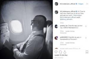Berliner Band: Rammstein-Sänger Till Lindemann verabschiedet sich in Pause