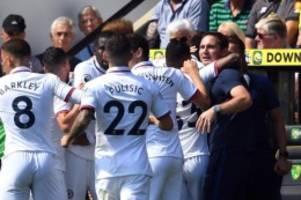 Premier League: Erster Sieg für Lampard: Chelsea gewinnt bei Norwich City