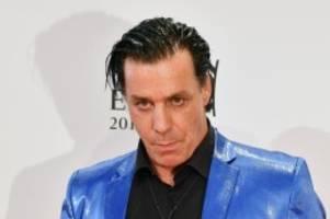 Rammstein-Sänger: Lindemann verabschiedet sich in Tourpause