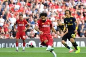 Premier League: Dritter Sieg im dritten Spiel: Liverpool schlägt Arsenal
