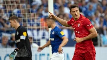Bundesliga: Erster Bayern-Sieg dank Lewandowski - Leverkusen gewinnt