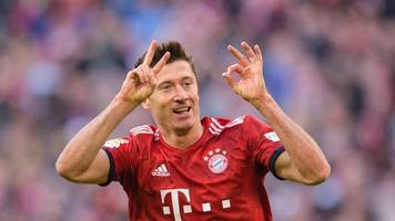 Lewandowski mit Bayern über neuen Vertrag 95 Prozent einig