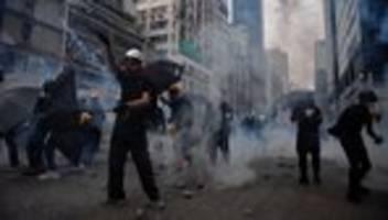 China: 29 Festnahmen bei Ausschreitungen in Hongkong