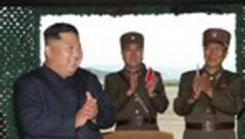 Pjöngjang: Nordkorea meldet Einsatz von neuem Raketensystem