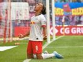 RB Leipzig gewinnt 2:1 gegen Eintracht Frankfurt