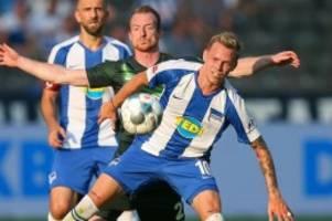 Fußball: Klatsche für Hertha: Wolfsburg verdirbt Covic das Heim-Debüt