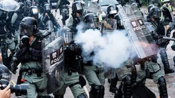 Hongkong-Proteste: Zahlreiche Festnahmen bei Ausschreitungen in Hongkong