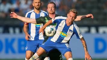 Elfmeter als Hertha-Killer: VfL verdirbt Covic Heim-Debüt