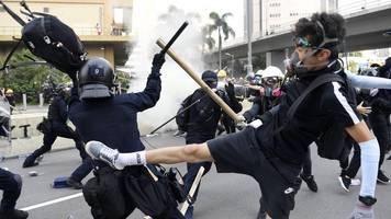 Neue Gewalt bei Protesten: 29 Festnahmen bei Ausschreitungen in Hongkong