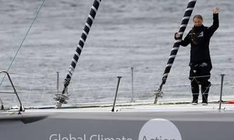 Greta Thunberg weniger als 1000 Seemeilen vor New York