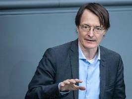 vermögenssteuer mit links-grün: lauterbach kämpft für ende der groko