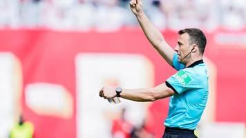 nach harter kritik: fußball-referee zwayer nicht nachtragend