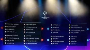 gruppen ausgelost: barca, inter, tottenham, juve, atlético: das werden fantastische champions-league-nächte