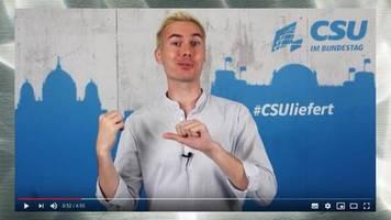 csu goes youtube: vergesst rezo, hier kommt armin: wie die csu jetzt junge wähler erreichen will